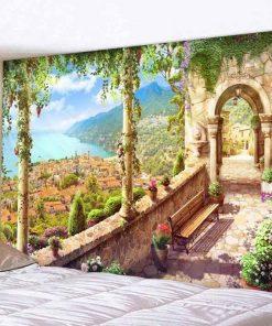 Prächtige Landschaft Wandbehang